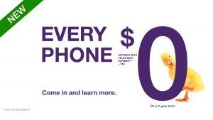 On a 2-year team. +Tax | $0 機價計劃為兩年免息分期供款智能手機